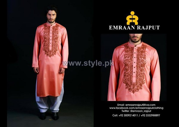 Emraan Rajput Formal Wear Kurtas 2014 For Men 7