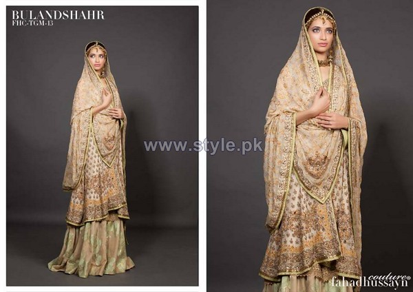 Fahad Hussayn Embroidered Clothes 2013-2014 For Brides 5
