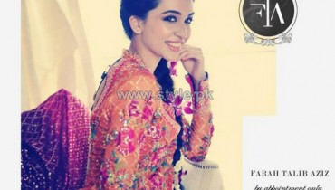 Farah Talib Aziz Formal and Bridal Wear 2014 Dresses 10