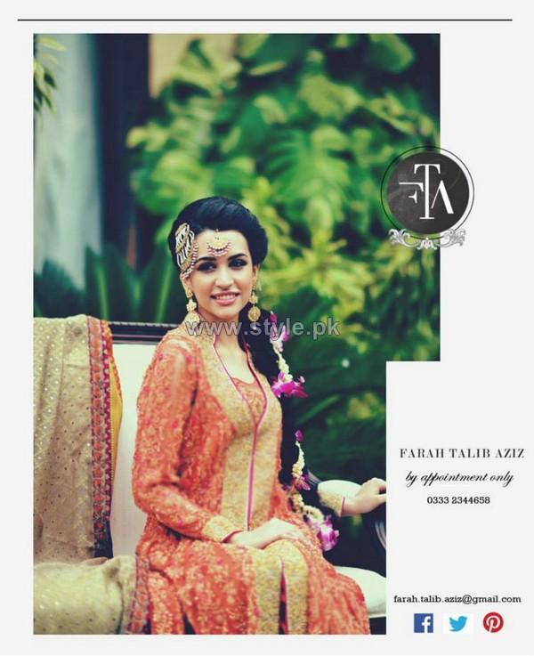 Farah Talib Aziz Formal and Bridal Wear 2014 Dresses 5