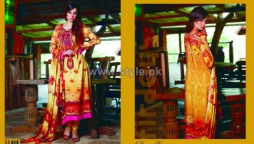 Firdous Fashion Digital Viscose Dresses 2014 For Girls 1