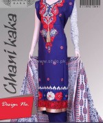 Ghani Textile Winter Clothes 2014 For Girls 3