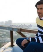Gul Ahmed Ideas Winter Dresses 2014 For Boys 12