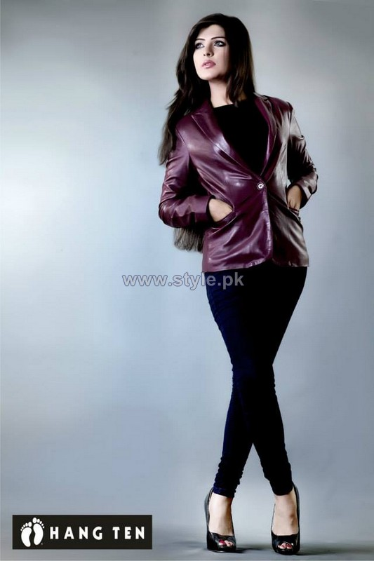 Hang Ten Leather Jacket Designs 2013 2014 For Boys And Girls