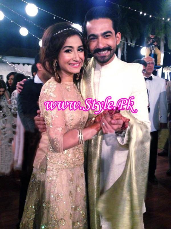 Hira tareen and Ali Safina Wedding Picture 05