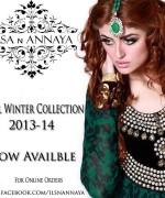 Ilsa n Annaya Winter Dresses 2014 for Women