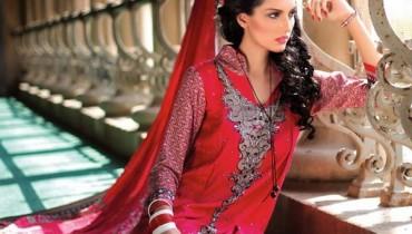 Ittehad Textiles New Linen Dresses 2014 for Women