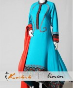 Kashish Winter Dresses 2014 for Women 004