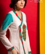 Kayseria Silk Dresses 2013-2014 for Women