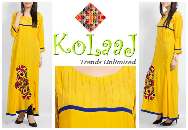 Kolaaj Winter Dresses 2013-2014 For Women 002