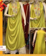 Kotak Fashion Winter Dresses 2014 For Women 006