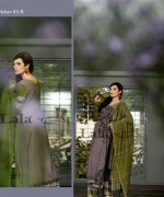 Lala Sana and Samia Celebre Embroidered Winter Dresses 2013-2014