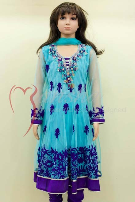 Mansha Winter Dresses 2013-2014 For Kids 004