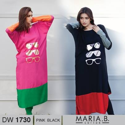 Maria B Winter Dresses 2013-2014 for Women