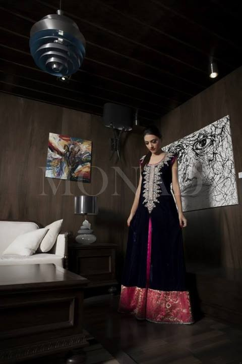 Monad Formal Wear Dresses 2013-2014 for Ladies