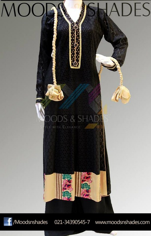 Moods And Shades Winter Dresses 2013-2014 For Women