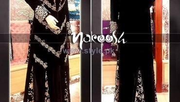 Nakoosh Winter Party Dresses 2014 For Women 4