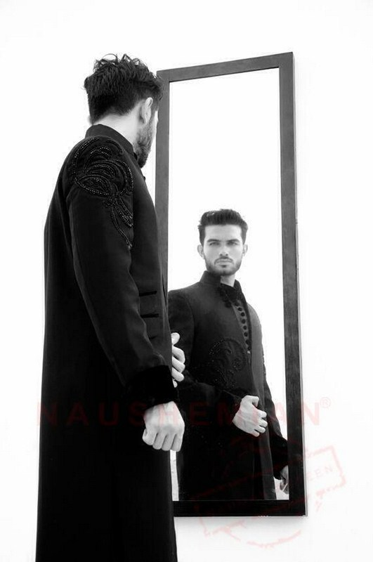 Naushemian Sherwani Designs 2013-2014 For Men 005
