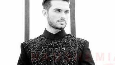 Naushemian Sherwani Designs 2013-2014 For Men 007