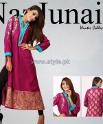 NazJuniad Winter Dresses 2014 For Girls 3