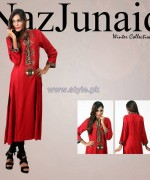 NazJuniad Winter Dresses 2014 For Women 6