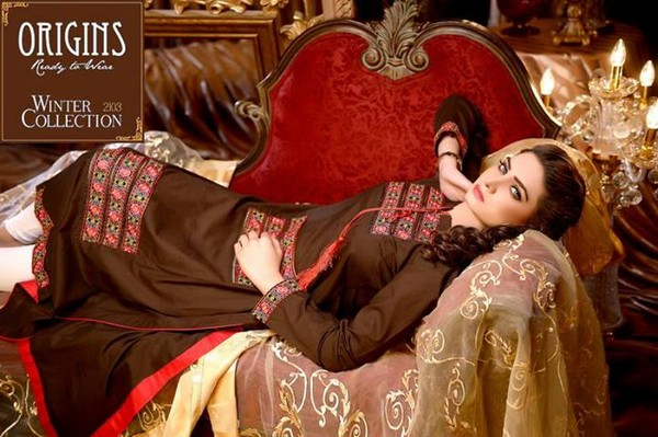 Origins Ready to Wear Winter Dresses 2013-2014 for Women