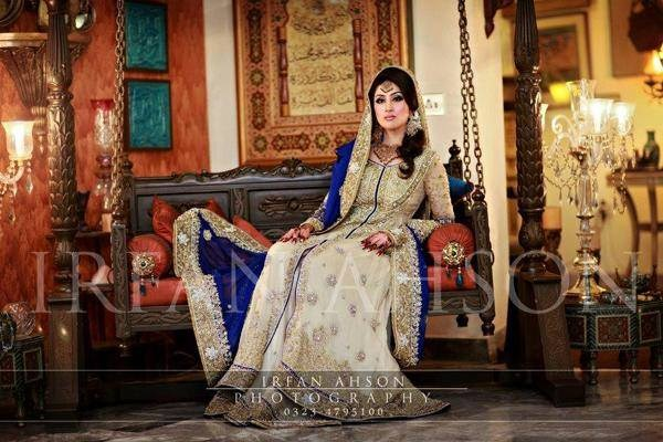 Pakistani Bridal Dresses 2014 For Girls 008