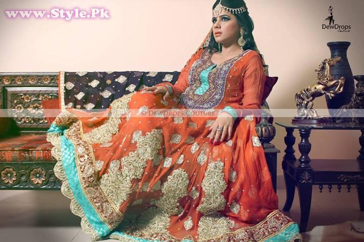 Mehndi Dress With Hijab : Pakistani mehndi dresses for girls