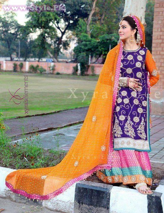 Wedding Dresses For Girl 21 Perfect Pakistani Mehndi Dresses for