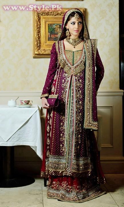Pakistani Traditional Wedding Dresses 2 Popular Pakistani Wedding Dresses for