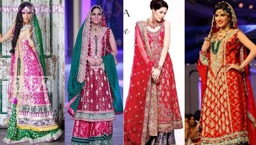 Pakistani Wedding Dresses 2014 for Women