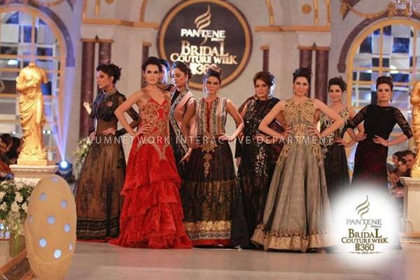 Pantene Bridal Couture Week  2013, Lahore -Day 1