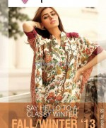 Phulkari by Taana Baana Winter Dresses 2013-2014 For Girls 1