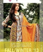 Phulkari by Taana Baana Winter Dresses 2013-2014 For Girls 3