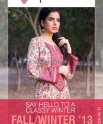 Phulkari by Taana Baana Winter Dresses 2013-2014 For Girls 4