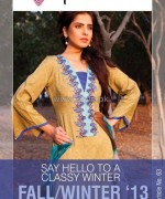 Phulkari by Taana Baana Winter Dresses 2013-2014 For Women 14