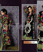 Puri Textiles Embroidered Dresses 2014 For Winter 1