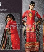 Puri Textiles Embroidered Dresses 2014 For Winter 2