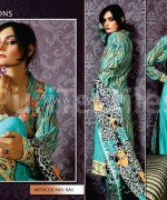 Puri Textiles Embroidered Dresses 2014 For Winter 3