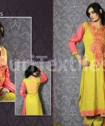 Puri Textiles Embroidered Dresses 2014 For Winter 4