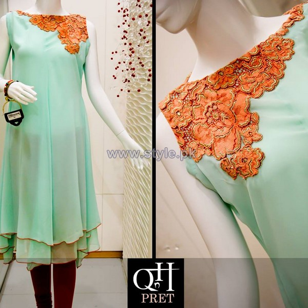 QnH Casual Wear Dresses 2014 For Women 1
