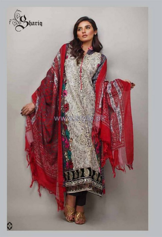 Rabeah Pashmina Shawl Collection 2014 by Shariq Textiles 5