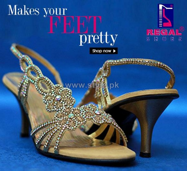 Regal Shoes Party Wear Sandals 2014 For Girls 3