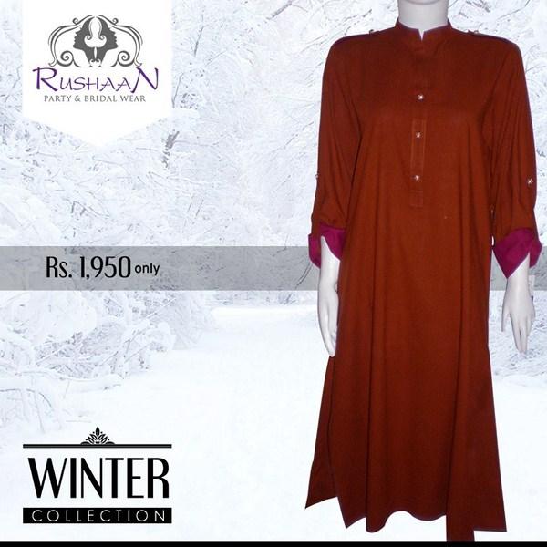 Rushaan Winter Dresses 2014 For Women 005