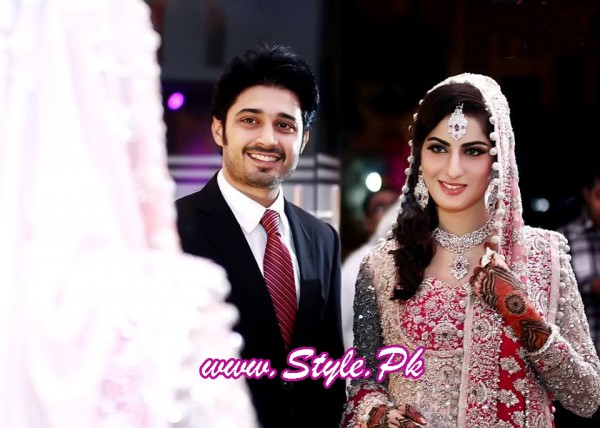Sana Khan and Babar Khan Wedding Pic 11 600x428 celebrity gossips bridal dresses