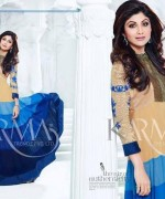 Shilpa Shetty Anarkali Suits 2014 for Girls001