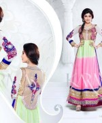 Shilpa Shetty Anarkali Suits 2014 for Girls002