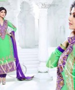 Shilpa Shetty Anarkali Suits 2014 for Girls003