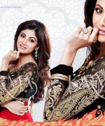 Shilpa Shetty Anarkali Suits 2014 for Girls004