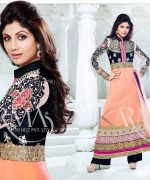 Shilpa Shetty Anarkali Suits 2014 for Girls005